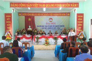 MTTQ Xã Tam Hòa tổ chức Đại hội điểm