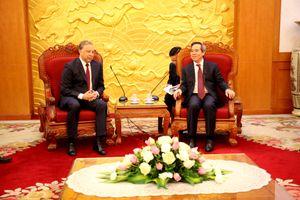 Tăng cường phát triển quan hệ hợp tác song phương Nga - Việt