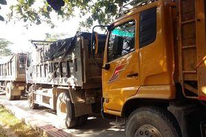 Xe chở đất náo loạn Khu du lịch Bãi Cháy: Tạm giữ gần 20 xe