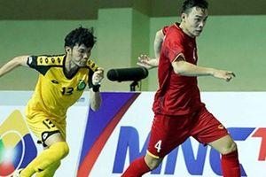 CLIP: ĐT futsal Việt Nam 'vùi dập' Brunei không thương tiếc