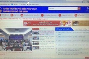 TP Hồ Chí Minh ra mắt website cung cấp thông tin pháp luật