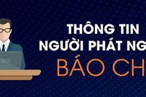 UBND tỉnh Đồng Tháp công khai thông tin người phát ngôn báo chí