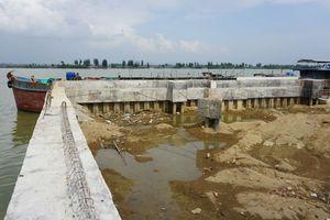 Công trình 'khủng' trái phép trên sông Mã chưa được tháo dỡ