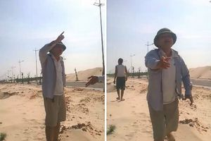 Phó giám đốc Trung tâm phát triển quỹ đất dọa bắn công an xã: Rút kinh nghiệm