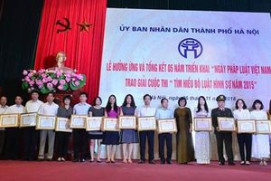 'Hà Nội là địa phương đi đầu trong triển khai Ngày Pháp luật'