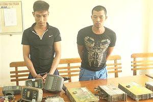 Bắt nhóm đối tượng chuyên trộm hộp đen máy đào liên tỉnh
