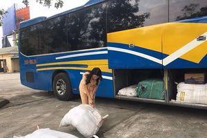 Phát hiện hàng trăm kg bì lợn hôi thối từ Hà Nội vào Thanh Hóa
