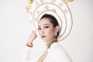 Ngắm bộ quốc phục ấn tượng của Thùy Tiên tại Miss International 2018