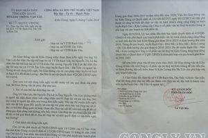 Kiên Giang: Xã viên kêu cứu vì Sở GTVT chưa thực hiện Quyết định của UBND tỉnh