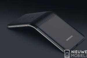 Điện thoại màn hình gập Galaxy F sẽ có màu bạc, bộ nhớ 512GB