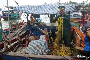 Nghệ An: Bắt hàng loạt phương tiện dùng kích điện tận diệt hải sản