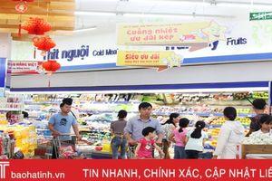 Tổng mức bán lẻ hàng hóa tại Hà Tĩnh đạt gần 30.000 tỷ đồng