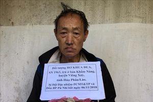 Mật phục, truy bắt đối tượng vận chuyển 3 kg thuốc phiện từ Lào vào Việt Nam