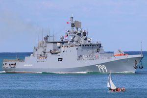 Tàu chiến mang tên lửa của Nga đến vùng biển gần Syria