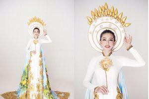 Hé lộ quốc phục của Thùy Tiên tại Hoa hậu quốc tế 2018