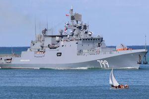 Nga điều tàu chiến mang tên lửa hành trình tới gần Syria