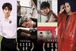 Vương Tuấn Khải (TFBOYS), Hồ Ca và Ngô Lỗi tham dự 'LHP thời trang VogueFilm 2018' cùng Đường Yên, Dương Mịch