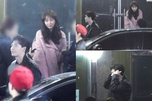 Sau vụ bị tạm giữ tại Indonesia, Lee Jong Suk bị bắt gặp hẹn hò với 'noona' Lee Na Young ở 'Romance Supplement'