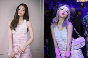 Châu Bùi lại áp đảo mỹ nhân xứ Hàn Jennie (Black Pink) trong pha 'chạm trán' váy áo