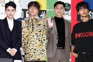 Nam nhân gây 'sốt' sự kiện chiều này: Park Seo Joon, L (Infinite) tỏa sáng cùng N (VIXX) và D.O. (EXO)