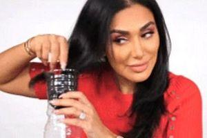 Hướng dẫn phái đẹp tạo kiểu tóc xoăn bằng chai nhựa đang sốt sình sịch trên mạng