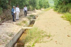 Thừa Thiên Huế: Ruộng 'khát' nước bên công trình thủy lợi tiền tỷ