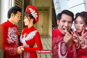 Gạo nếp gạo tẻ: Lộ ảnh cưới đẹp lung linh của Hương - Tường khiến fan nức nở