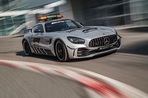 Xe an toàn Safety Car trong giải đua F1 mang 'sứ mệnh' gì?