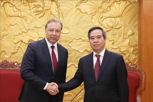 Đoàn đại biểu Đảng Cộng sản Liên bang Nga thăm, làm việc tại Việt Nam