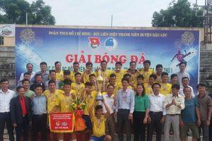 Thanh Hóa: Sôi động giải bóng đá các CLB huyện Hậu Lộc năm 2018 lần thứ nhất