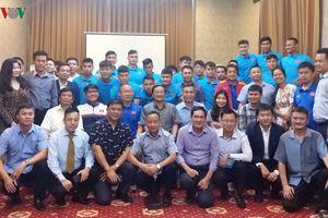 ĐT Việt Nam được tặng thưởng 4.000 USD trên đất Lào