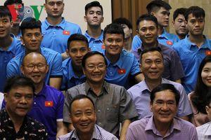 PCT VFF Trần Quốc Tuấn: 'ĐT Việt Nam như đá trên sân nhà khi gặp Lào'