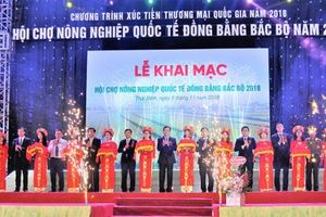 Thái Bình tổ chức Hội chợ Nông nghiệp Quốc tế Đồng bằng Bắc bộ 2018