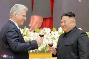 Toàn cảnh chuyến thăm lịch sử của Chủ tịch Cuba tới Triều Tiên