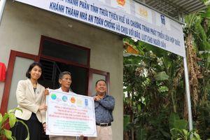 Thừa Thiên Huế nhận 107 căn nhà an toàn