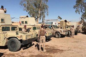 Hình ảnh đầu tiên: Quân đội Iraq chống IS dọc biên giới tỉnh Al-Qa'im, Syria