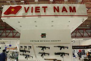 Vũ khí bộ binh hiện đại do Việt Nam chế tạo tại Triển lãm Indo Defence 2018