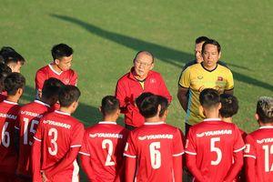 Ngày thứ hai căng thẳng của thầy trò Park Hang-seo tại Lào