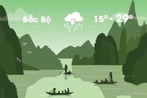 Thời tiết ngày 7/11: Bắc Bộ chuyển lạnh, mưa lớn diện rộng