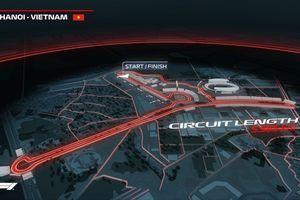 Đường đua F1 ở Việt Nam đầy thách thức, lấy cảm hứng từ khắp thế giới