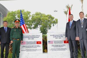 Việt - Mỹ hoàn thành tẩy độc sân bay Đà Nẵng, bắt đầu dự án Biên Hòa