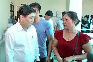 Chủ tịch TPHCM gặp người dân trong ranh quy hoạch Thủ Thiêm