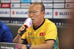 HLV Park Hang-seo: 'Tuyển Việt Nam đã sẵn sàng để chiến thắng Lào'
