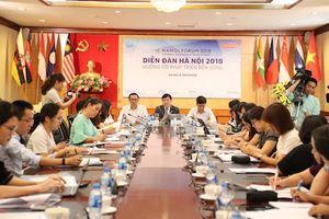 Diễn đàn Hà Nội 2018 – Hội tụ chất xám bàn về phát triển bền vững