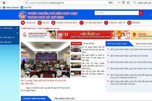 TPHCM ra mắt kênh thông tin pháp luật