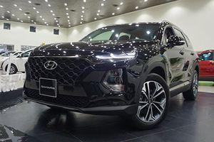 Hyundai SantaFe 2019 tại Việt Nam có bị 'ăn bớt' trang bị?