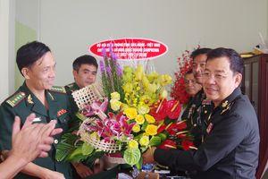 BĐBP Đăk Nông chúc mừng các đơn vị bạn nhân kỷ niệm 65 năm Quốc khánh Vương quốc Campuchia