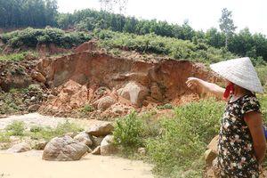Đào đất làm đường nhưng không hoàn thổ