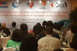 Doanh nghiệp châu Âu: Ủng hộ Việt Nam thúc đẩy sự phát triển của nền kinh tế số