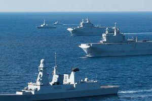 Pháp-Ai Cập tập trận chung ở Địa Trung Hải giữa lúc Syria căng thẳng